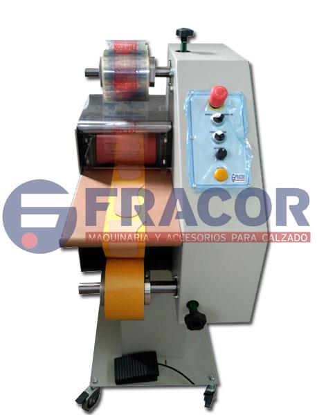 Maquina para elaboracion de productos laminados encolados
